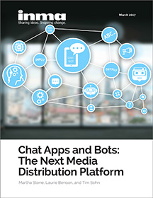 Tim Sohn of Sohn Social Media Solutions is mentioned as co-author in messaging apps report by INMA.